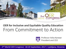 OER for Inclusive and Equitable Quality Education
