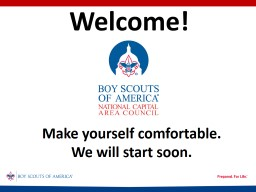 Welcome! Make yourself comfortable.