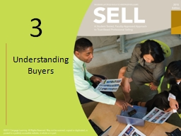 Understanding Buyers Learning Objectives PowerPoint PPT Presentation