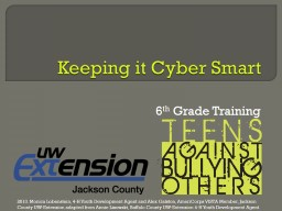 Keeping it Cyber Smart 6
