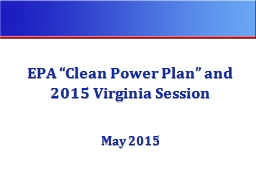"EPA ""Clean Power Plan"" and"