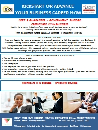 CERT 3 GUARANTEE - GOVERNMENT FUNDED