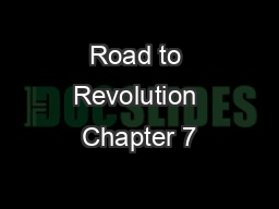 Road to Revolution Chapter 7