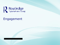 Engagement Table of Contents