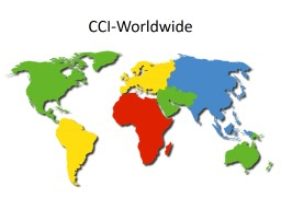 CCI-Worldwide CCI-The Netherlands PowerPoint PPT Presentation