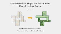Self-Assembly of Shapes at Constant Scale