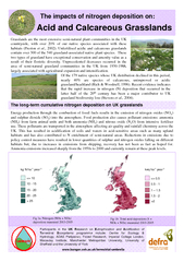 Acid and Calcareous Grasslands The impacts of nitrogen