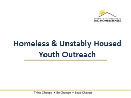 Homeless & Unstably Housed