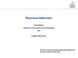 Bayesian Inference Chris