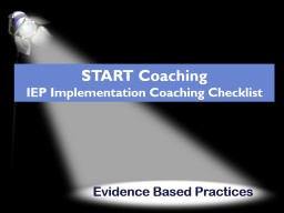 Evidence Based Practices PowerPoint PPT Presentation