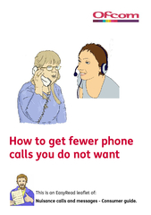 How to get fewer phone calls you do not want This is a