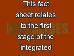 Development assessment properly made applications This fact sheet relates to the first stage of the integrated development assessment system IDAS