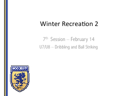 Winter Recreation 2 7 th