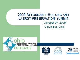 2009 Affordable Housing and