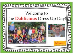 Welcome  to The  Dahlicious