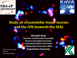 Study on  circumstellar  maser sources