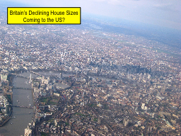 Britain's Declining House Sizes