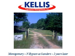 Montgomery – N Bypass at Sanders – 2 years later