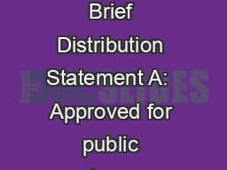 Guardian Overview Brief Distribution Statement A:  Approved for public release; distribution is unl PowerPoint PPT Presentation
