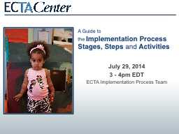 A Guide to the  Implementation Process