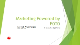Marketing Powered by FOTO PowerPoint PPT Presentation