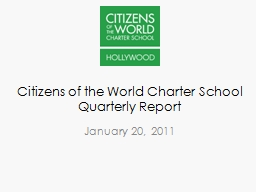Citizens of the World Charter School