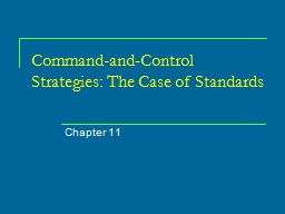 Command-and-Control Strategies: The Case of
