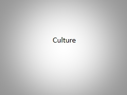 Culture Why culture? Moghaddam