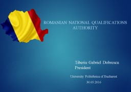 Romanian National Qualifications