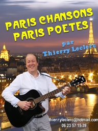 Paris chansons Paris  poETes