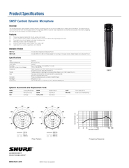 SM Cardioid Dynamic Microphone Type Dynamic Frequency