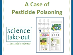 A Case of  Pesticide Poisoning