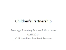 Children's Partnership