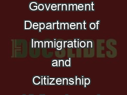 Australian Government Department of Immigration and Citizenship Visitor visa sub