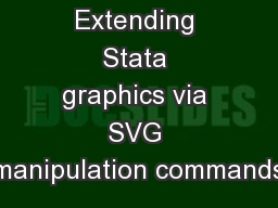 Extending Stata graphics via SVG manipulation commands