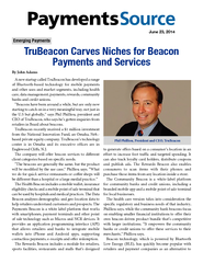 June   TruBeacon Carves Niches for Beacon Payments and