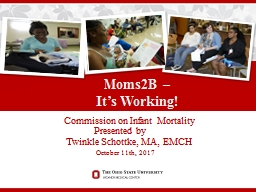 Commission on  Infant Mortality Presented by PowerPoint PPT Presentation