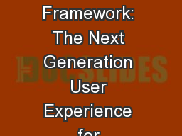 Windows 7 Ribbon Framework: The Next Generation User Experience for Presenting Commands