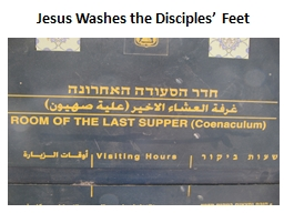 Jesus Washes the Disciples' Feet PowerPoint PPT Presentation