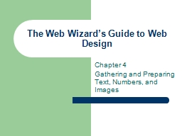 The Web Wizard's Guide to Web Design