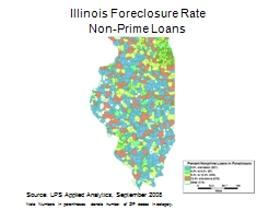 Illinois Foreclosure Rate