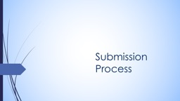 Submission Process Role of the Author