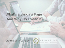 What's a Landing Page (And Why Do I Need It?)