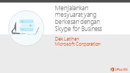 Dek Latihan Microsoft Corporation