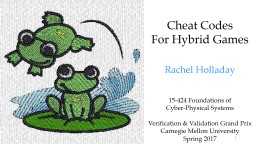 Cheat Codes For Hybrid Games