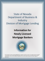 State of Nevada Department of Business & Industry