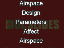 How do Layered Airspace Design Parameters Affect Airspace Capacity and Safety?