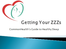 Getting Your ZZZs  CommonHealth's Guide to Healthy Sleep
