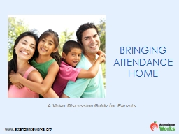 A Video Discussion Guide for Parents