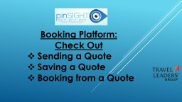 Booking Platform:  Check Out